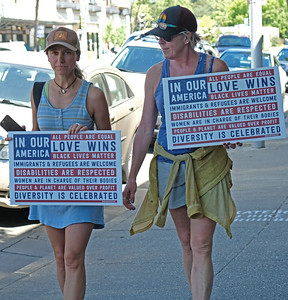 March to Unite Families: Sebastopol. 6/30/2018