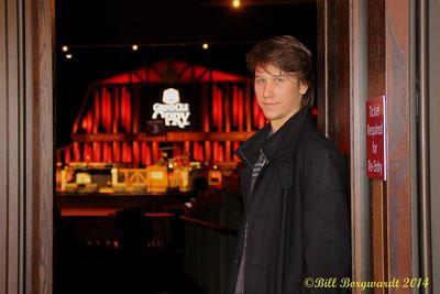 Jesse Mast - Opry Backstage tour