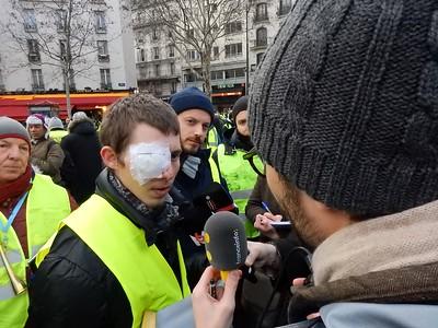 """Marche blanche des """"gueules cassées"""""""