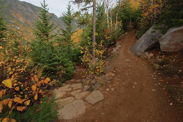 Sentier de l'Acropole des Draveurs - Parc national des Hautes-Gorges de la rivière Malbaie Québec