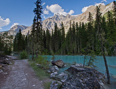 Kinney Lake trail & Robson river