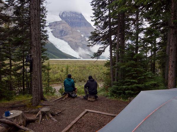 Rearguard campsite, Berg Lake trail, Mount Robson provincial park