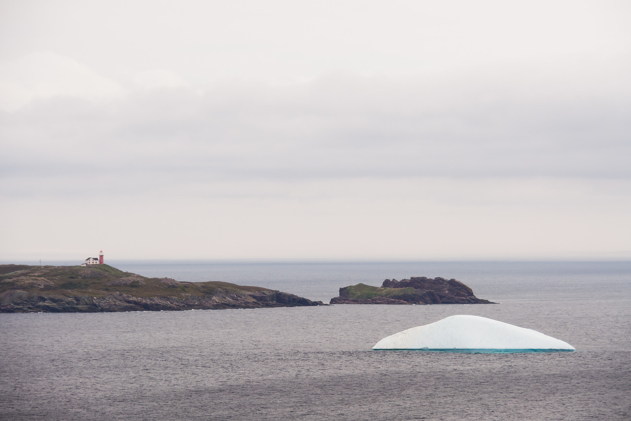 Ferryland lighthouse & glacier