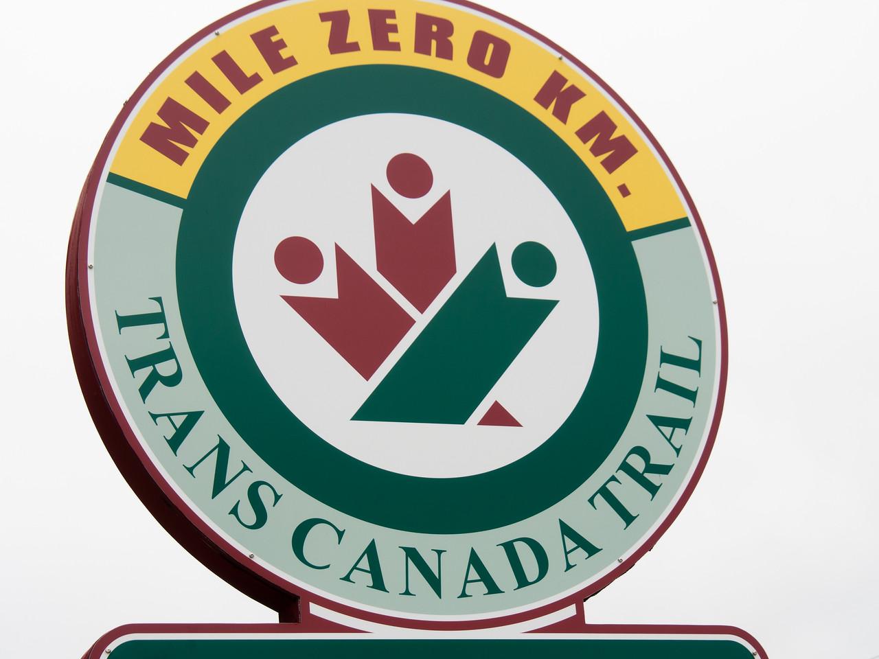 Trans-Canada Trail - Mile 0