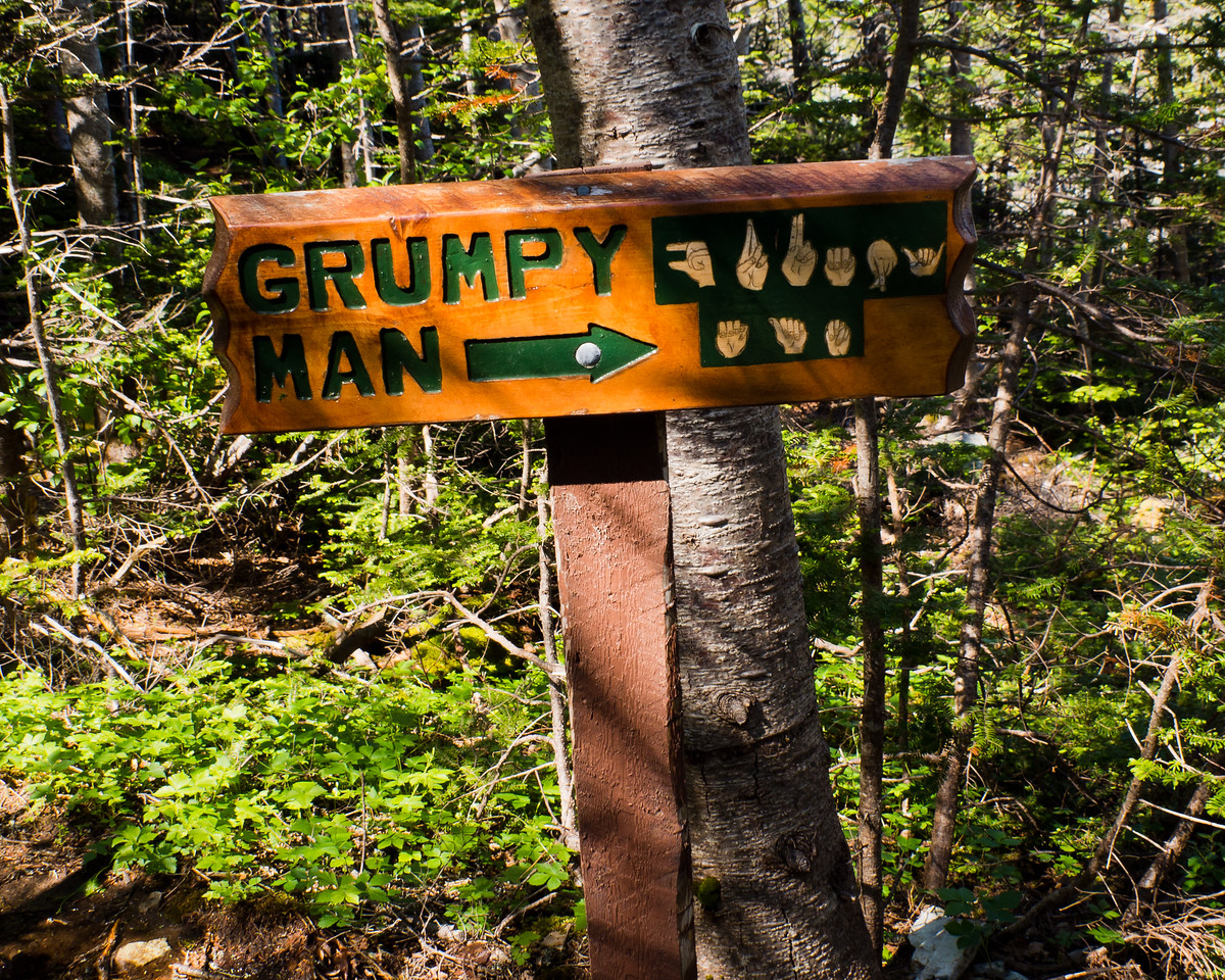 Grumpy Man - East Coast Trail