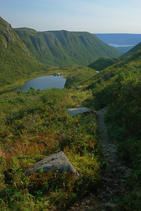Sentier James Callaghan, parc national de Gros Morne, Terre-Neuve James Callaghan trail (Gros Morne mountain) - Gros Morne national park, Newfoundland</spa