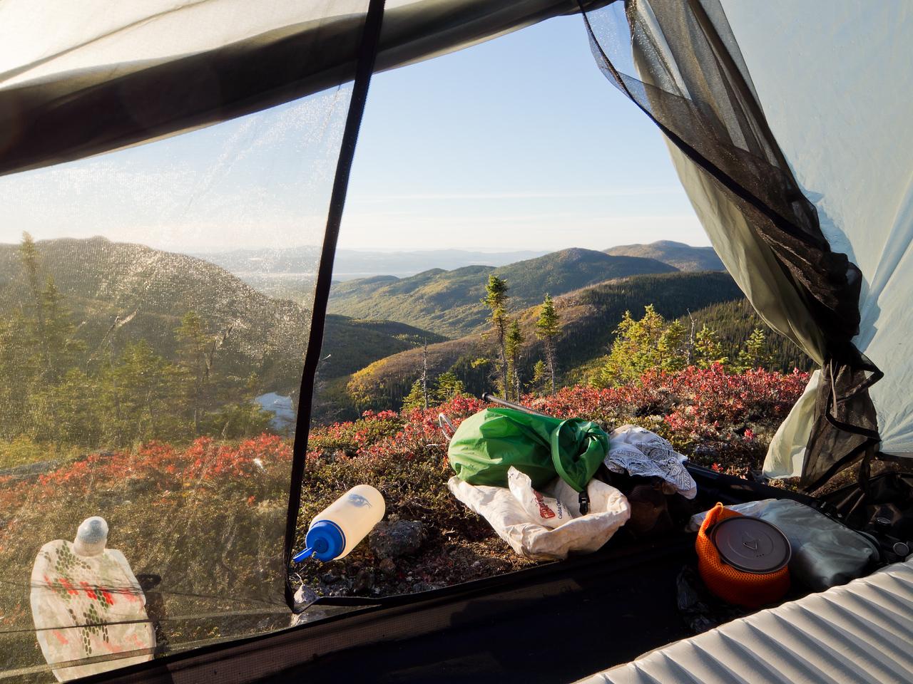Camping au mont du Castor Ouest