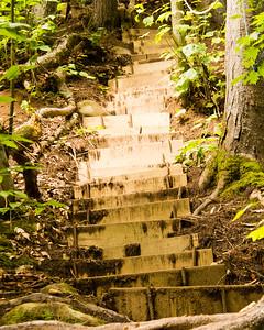 Escalier de Cirith Ungol - Sentier Mestashibo