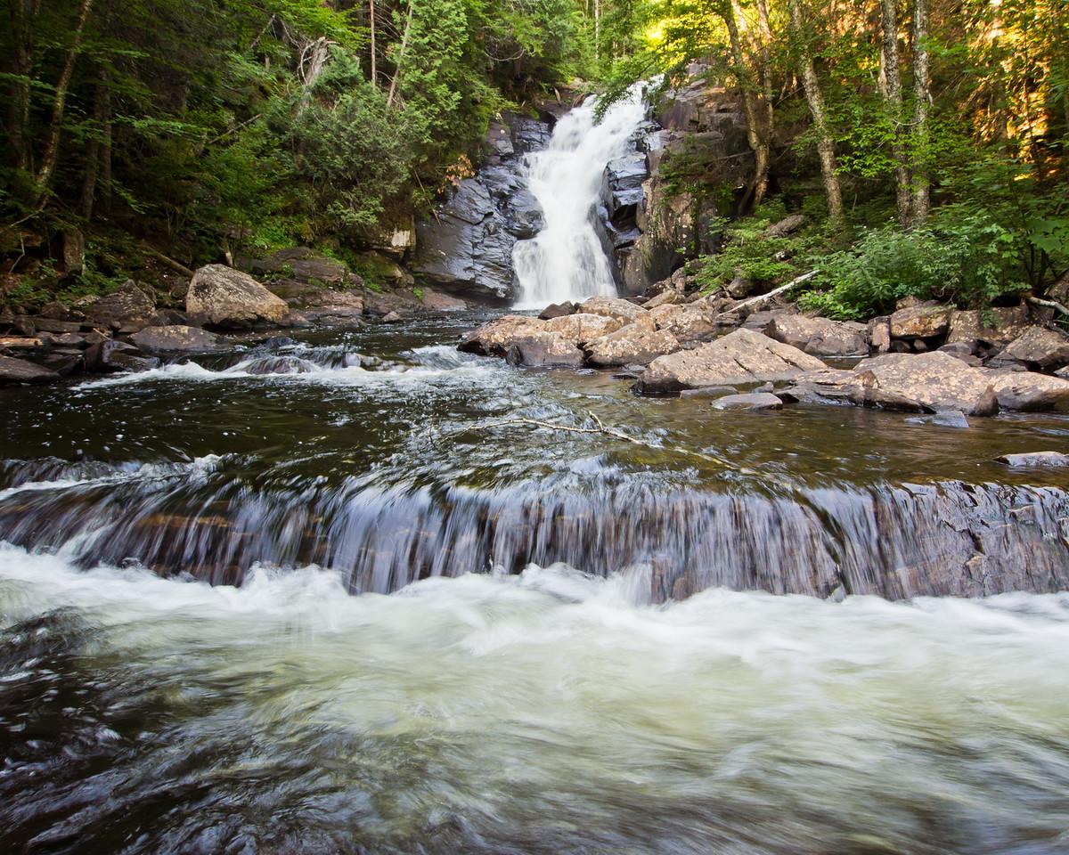 Grande chute de la rivière Swaggin