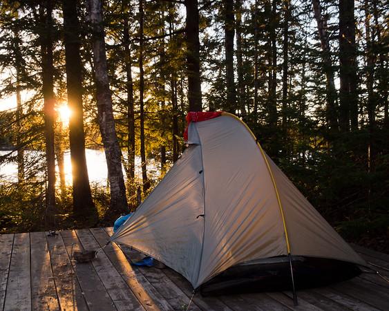 Camping du lac Nantel - Sentier Cap 360