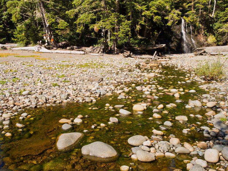 Bonilla Creek campsite