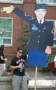 Support Bradley Manning protest D.C. '13 (11)