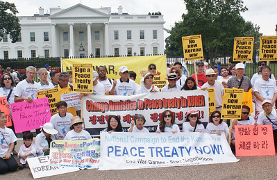 Korean War peace treaty protest D.C. '13 (10)