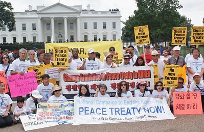 Korean War peace treaty protest D.C. '13 (10)