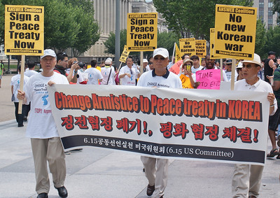 Korean War peace treaty protest D.C. '13 (7)