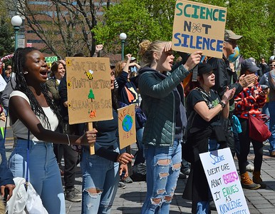 Thousands turned out in Denver for the March For Science.