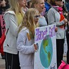 Many parents and their children joined the March For Science in Denver.