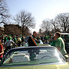 Annual St. Patrick's Day Parade through downtown Rochester, with Bishop Matthew H. Clark serving as Grand Marshall.