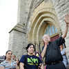 Project HOPE organizes a march for peace beginning and ending at St. Michael's Church in Rochester.