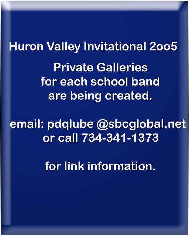 2005 - Huron Valley Invitational