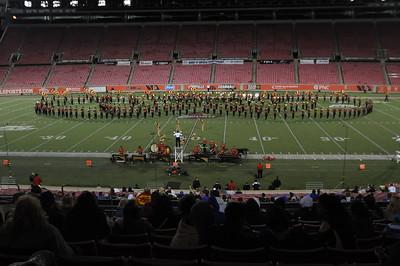 UC Band, BOA, Papa John's Stadium, Louisville, KY