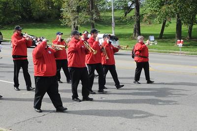 UC Band_Homecoming Parade_UC Campus_Cincinnati, OH