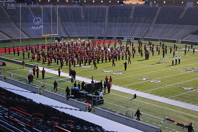 UC Band_Homecoming Parade_Cincinati, OH