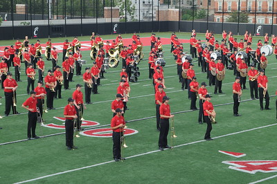 UC Band_Band Camp closing performance_UC Campus_08-21-2014