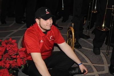 UC Band_Military Bowl-Travel & Rallys_Washington DC_12-25 & 12-26-2014