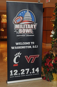 UC Band_Military Bowl-Travel & Rallys_Washington DC_12-25 & 12-26-2014