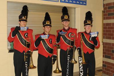 UC Band_Olentangy Liberty HS, Columbus, OH-09-26-2014