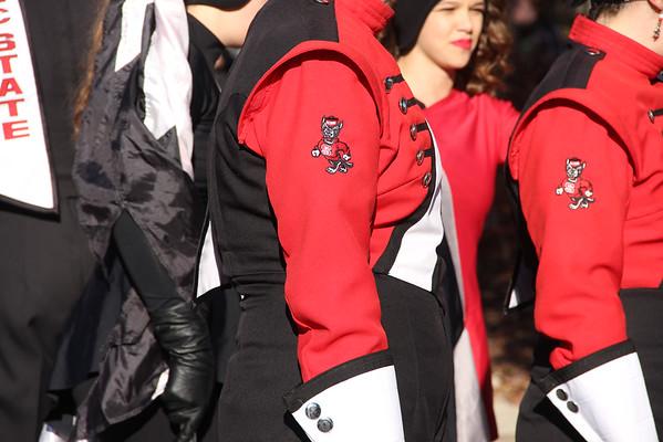 Marching Band - Raleigh Christmas Parade 2014