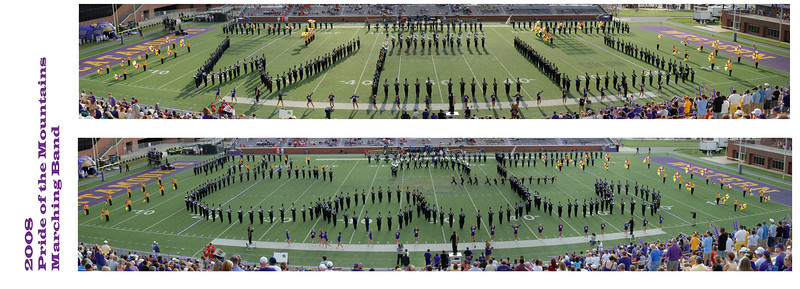 Western Carolina University Pride of the Mountains Marching Band