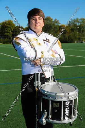 North Farmington High School Marching Band Photo Day 2013