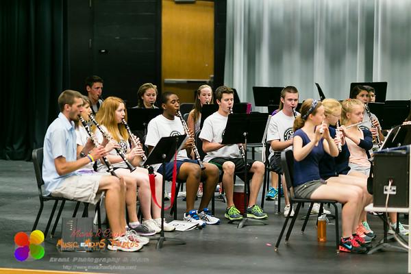 Band Camp 2014 - week 2 day 5