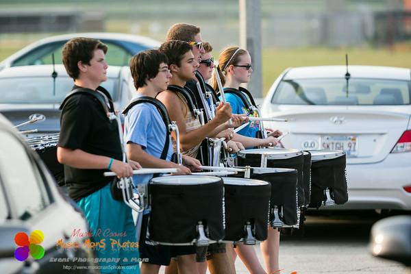 Band Camp 2014 - week 3 day 1