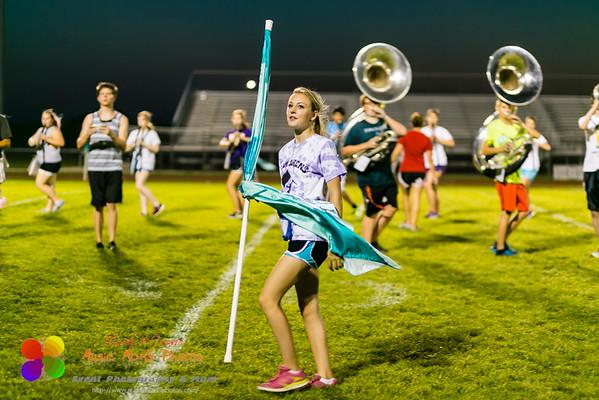 NCHS Evening rehearsal on September 4, 2014