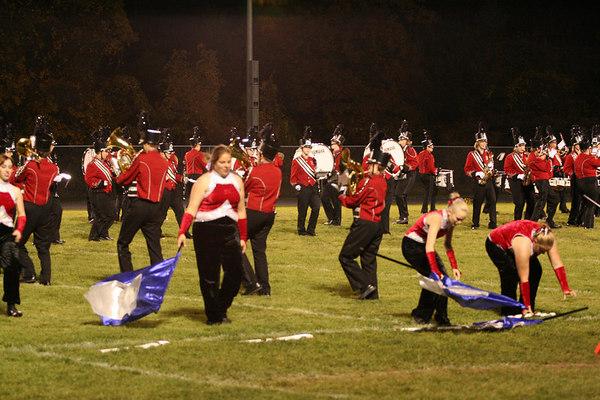 Bedford Marching Band<br /> MSBOA  Flat Rock Competition<br /> © Pamela Stover