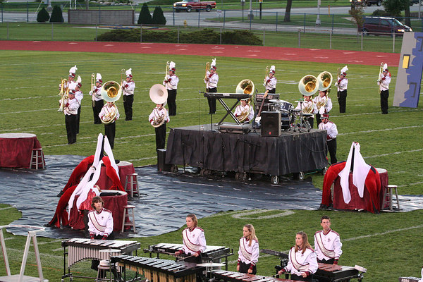 Southgate Anderson Marching Band MCBA Competition - Trenton   ©Pamela Stover