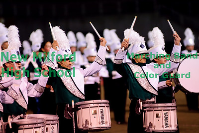 New Milford High School Marching Band at Brien McMahon, September 25, 2010