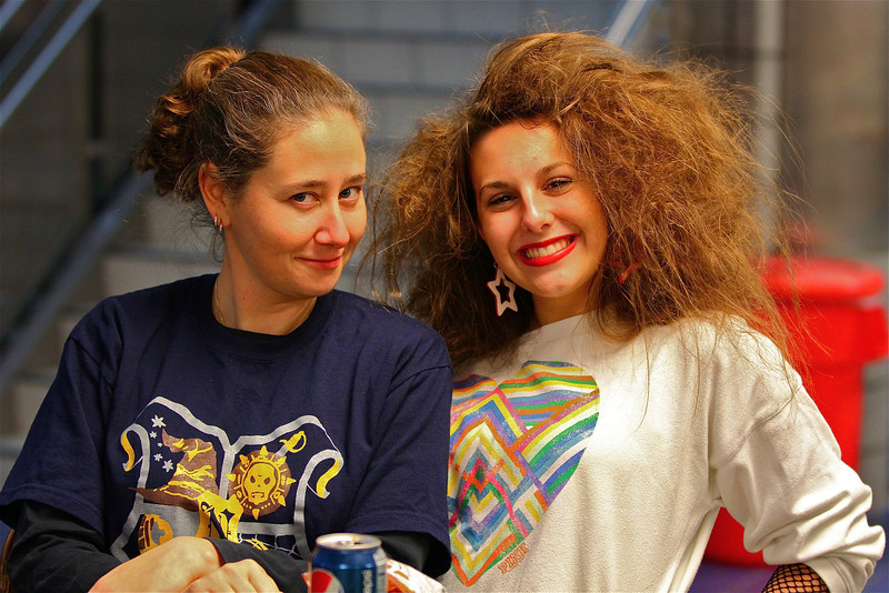 Bad hair day gone HORRIBLY wrong!!!!  And Jessica's is looking pretty bad, too!!  hahahahaahha