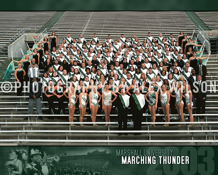 2003 Marching Thunder 8X10