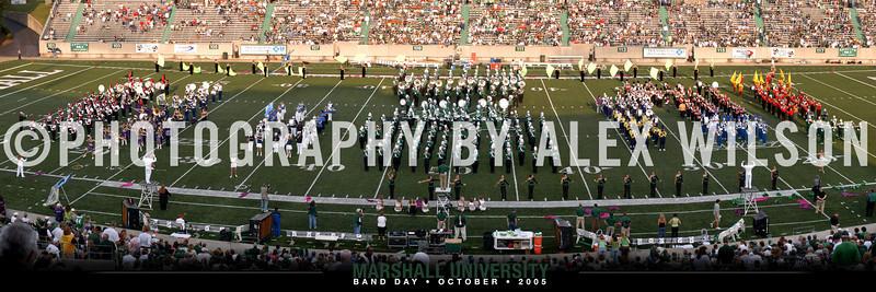 2005 Band Day Panoramic