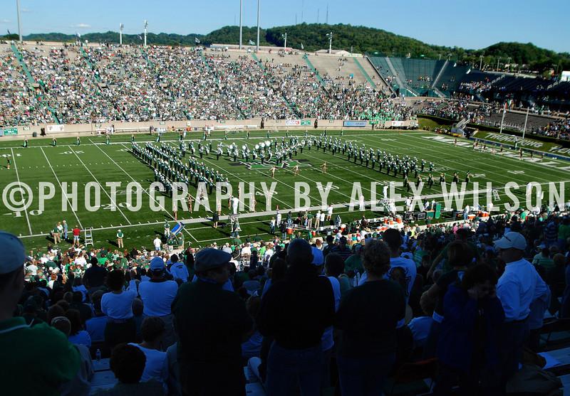 Marshall University vs. University of New Hampshire.  September 15, 2007.