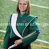The 2010 Marshall University Marching Thunder marching band group and individual member shots, taken at the band's practice facility on the campus of Marshall University in Huntington, WV.   November 13,  2010  (J. Alex Wilson)
