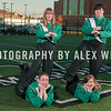 The 2011 Marshall University Marching Thunder marching band group and individual member shots, taken at the band's practice facility on the campus of Marshall University in Huntington, WV.   November 9,  2012  (J. Alex Wilson)