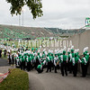 Marshall University football vs. Eastern Kentucky University (EKU) at Joan C. Edwards Stadium on the campus of Marshall University in Huntington, WV.  September 8, 2018.  (J. Alex Wilson)