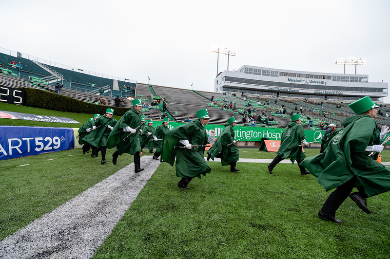 Marshall University football vs. Florida International University (FIU) at Joan C. Edwards Stadium on the campus of Marshall University in Huntington, WV.  November 30, 2019.  (J. Alex Wilson)