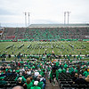 Mia Rose and I celebrating my birthday at the Marshall vs. WKU game at Joan C. Edwards stadium on the campus of Marshall University in Huntington, WV.  October 26, 2019.  (J. Alex Wilson)