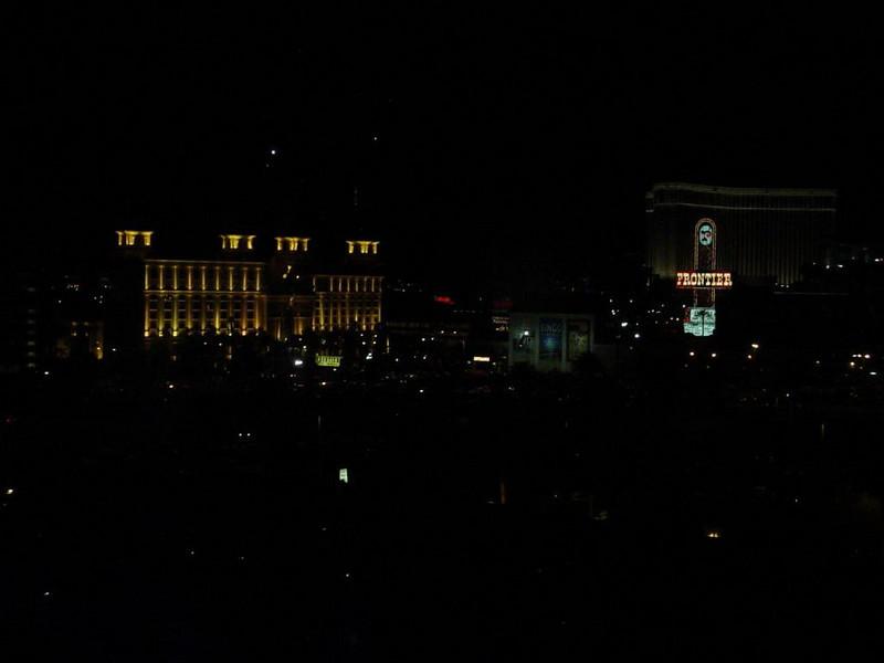 Blick aus unserem Hotelzimmer